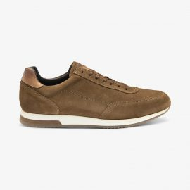 Loake Bannister suede tan sneakers