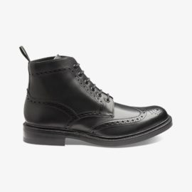 Loake Bedale black brogue boots