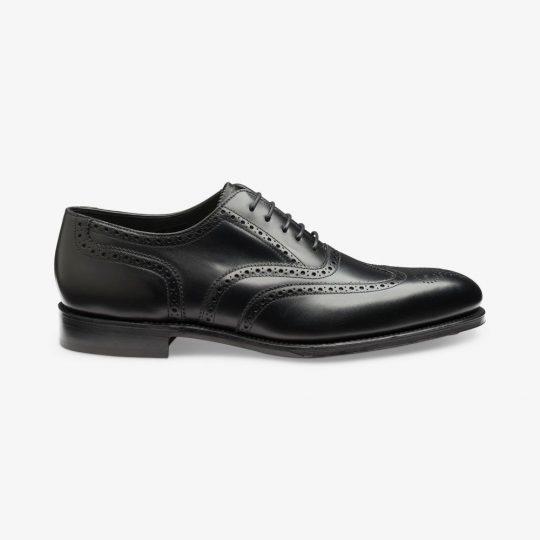 Loake Buckingham black oxford brogue shoes