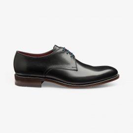 Loake Drake black derby shoes