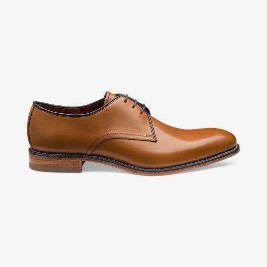 Loake Drake tan derby shoes