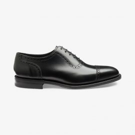 Loake Fleet black oxford shoes