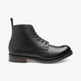 Loake Hebden black boots