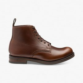 Loake Hebden brown boots