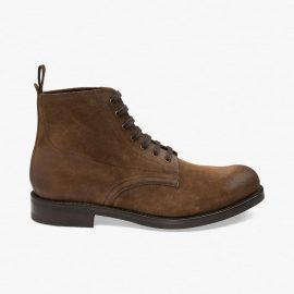 Loake Hebden suede brown boots