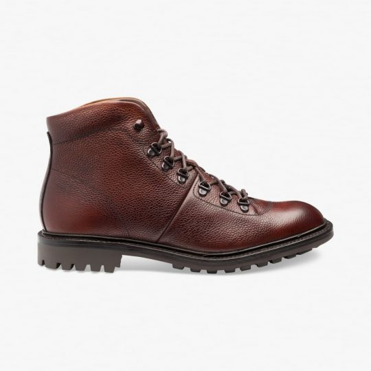 Loake Hiker oxblood boots