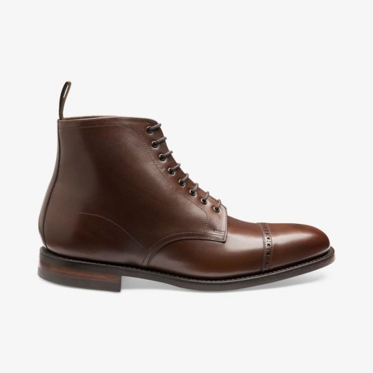 Loake Hyde dark brown boots
