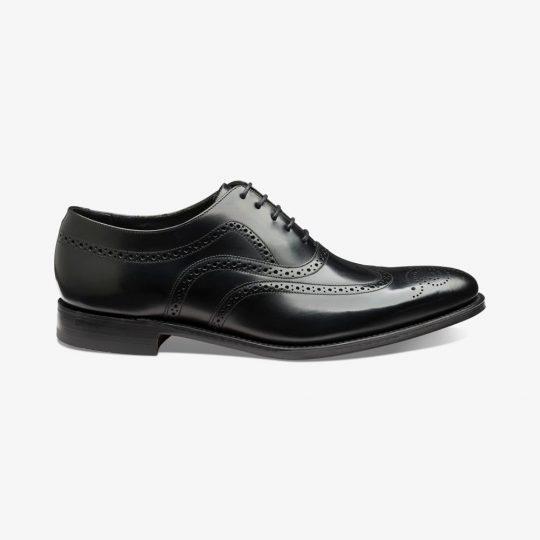 Loake Jones black brogue oxford shoes