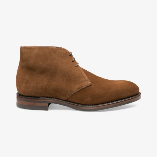 Loake Kempton brown suede desert boots