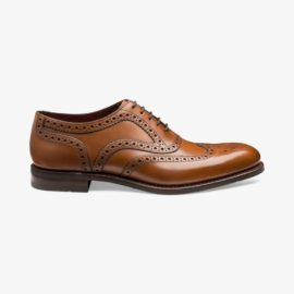 Loake Kerridge cedar brogue oxford shoes