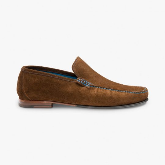 Loake Nicholson suede polo loafers