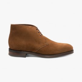 Loake Pimlico suede brown chukka boots