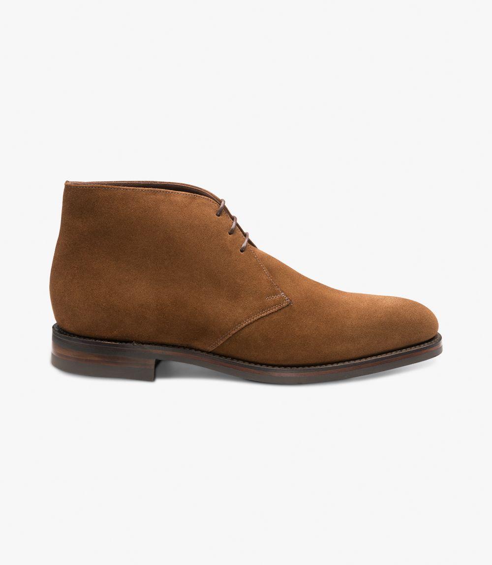 Loake Pimlico suede brown chukka boots