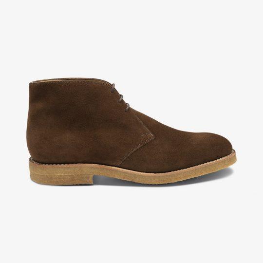 Loake Rivington suede brown desert boots