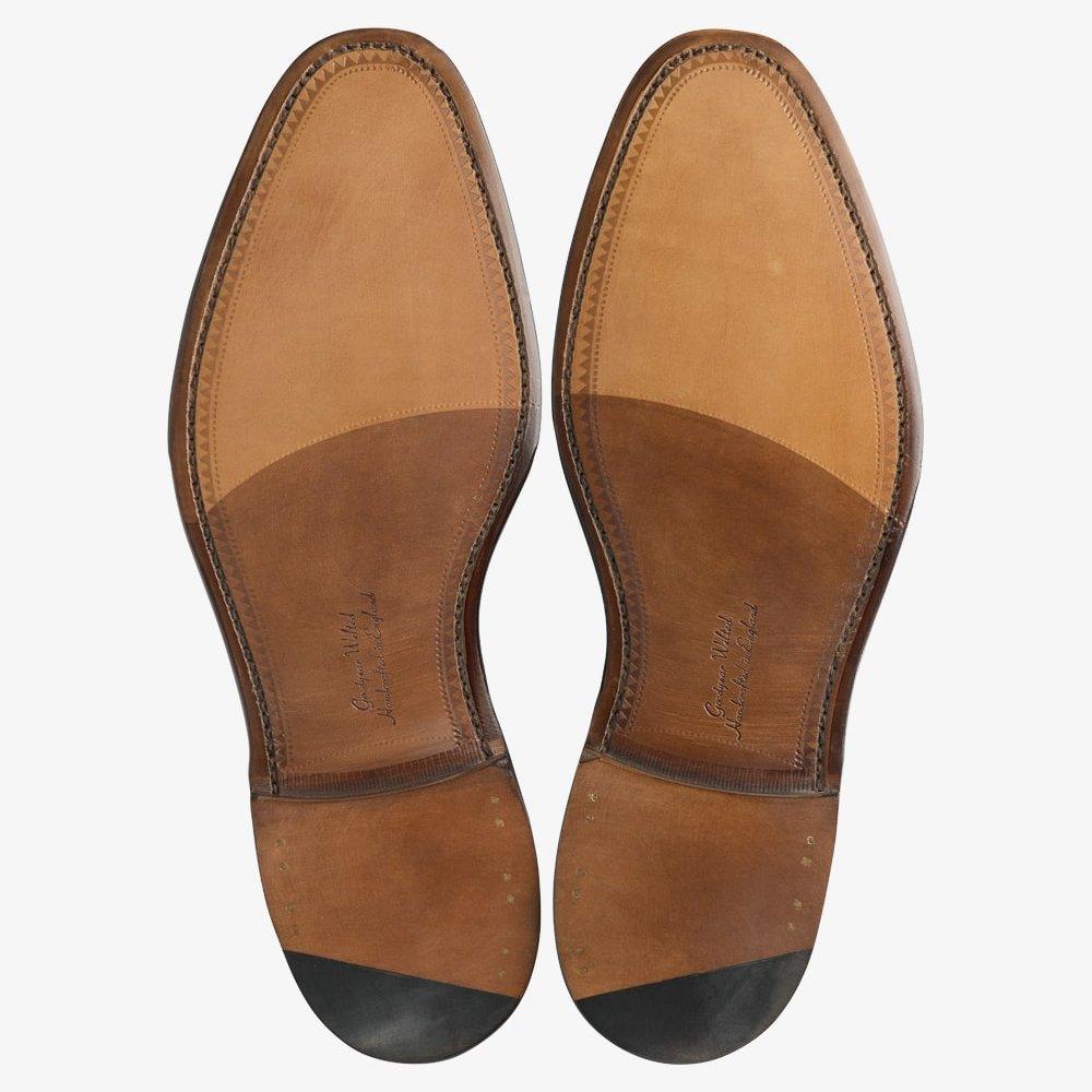 Loake Russell black tassel loafers
