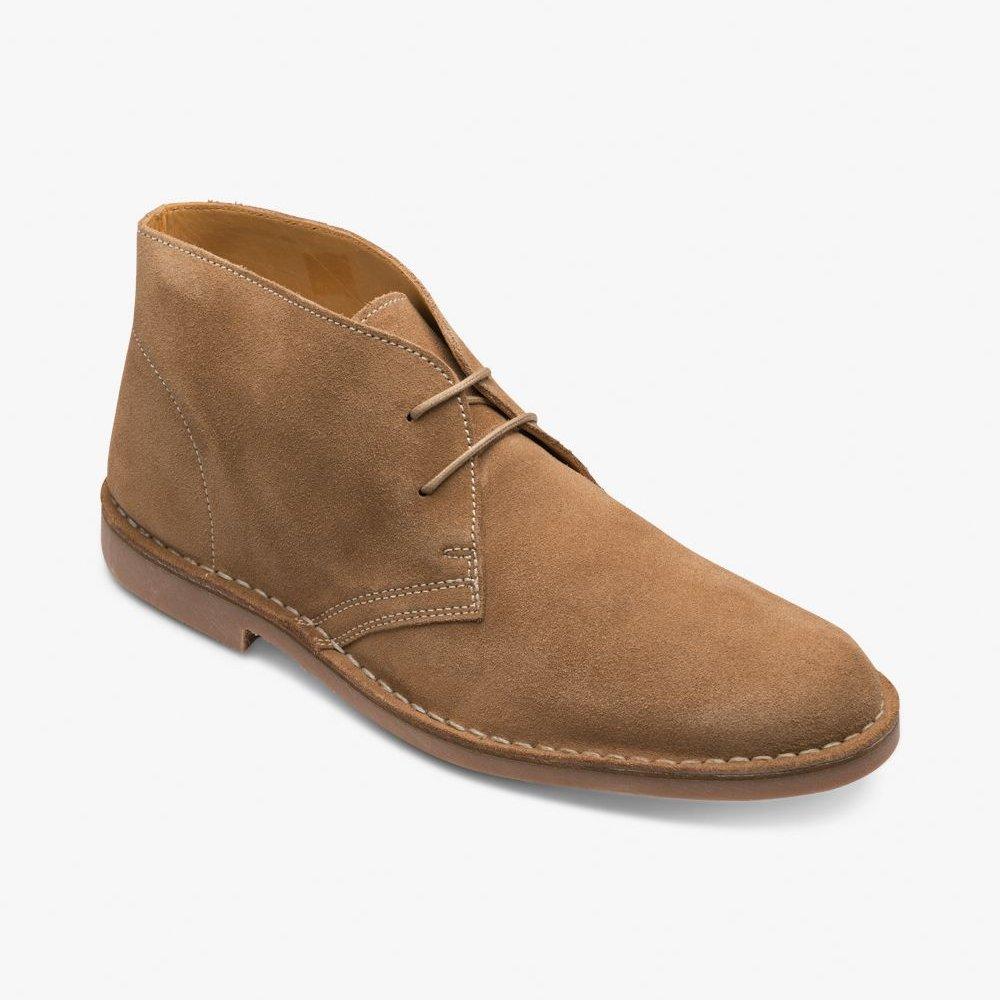 Loake Sahara suede tan desert boots