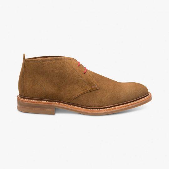 Loake Sandown suede brown desert boots
