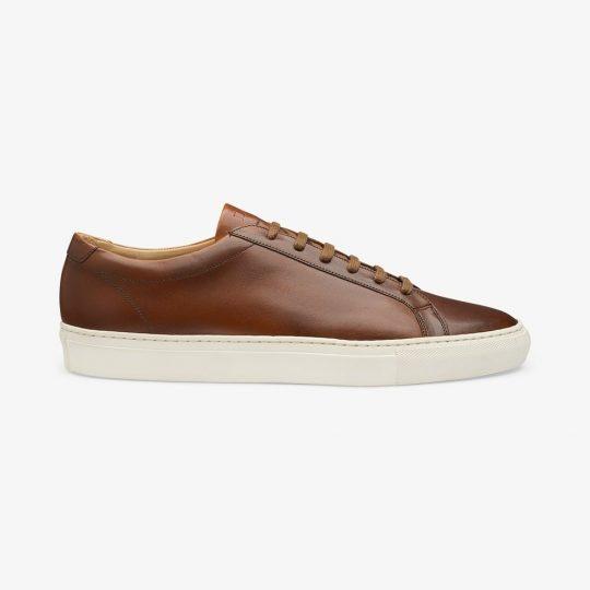 Loake Sprint brown sneakers