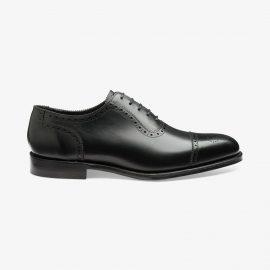 Loake Strand black brogue oxford shoes