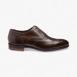 Loake Torrington roaster coffee oxford shoes