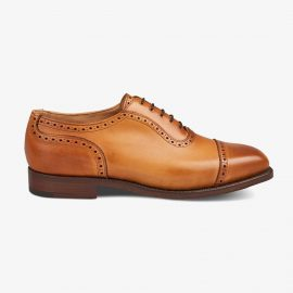 Tricker's Belgrave 1001 burnished brogue oxford shoes