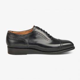 Tricker's Belgrave black brogue oxford shoes