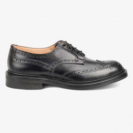 Tricker's Bourton black brogue derby shoes