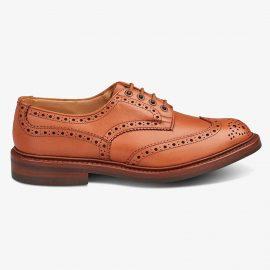 Tricker's Bourton c shade tan brogue derby shoes