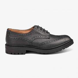 Tricker's Ikley black brogue derby shoes