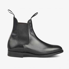Tricker's Lambourn black Chelsea boots