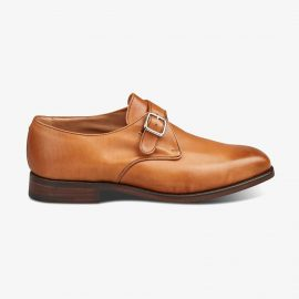 Tricker's Mayfair 1001 burnished monk strap shoes