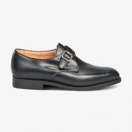 Tricker's Mayfair black monk strap shoes