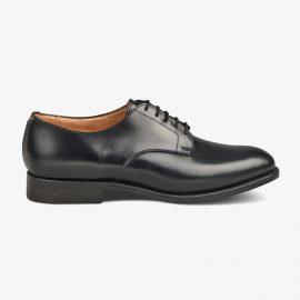 Tricker's Wiltshire black derby shoes