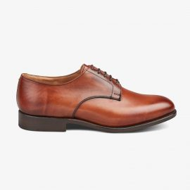 Tricker's Wiltshire chestnut burnished derby shoes