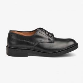 Tricker's Woodstock black derby shoes