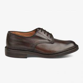 Tricker's Woodstock espresso burnished derby shoes