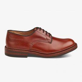Tricker's Woodstock marron antique derby shoes